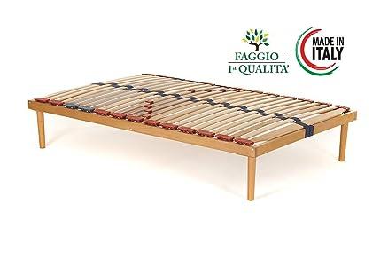 Rete piazza e mezza modello Dynamic misura 120x190 in legno di ...