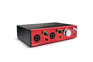 Amazon.com: Focusrite Clarett - Interfaz Thunderbolt 4Pre 18 ...
