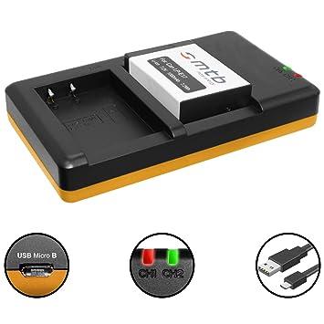 Batería + Cargador doble (USB) para LP-E17 / Canon EOS 77D ...