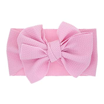 Girls Toddlers Dressy Beautiful Bow Alice Band Headband Hairband Hair Accessorie