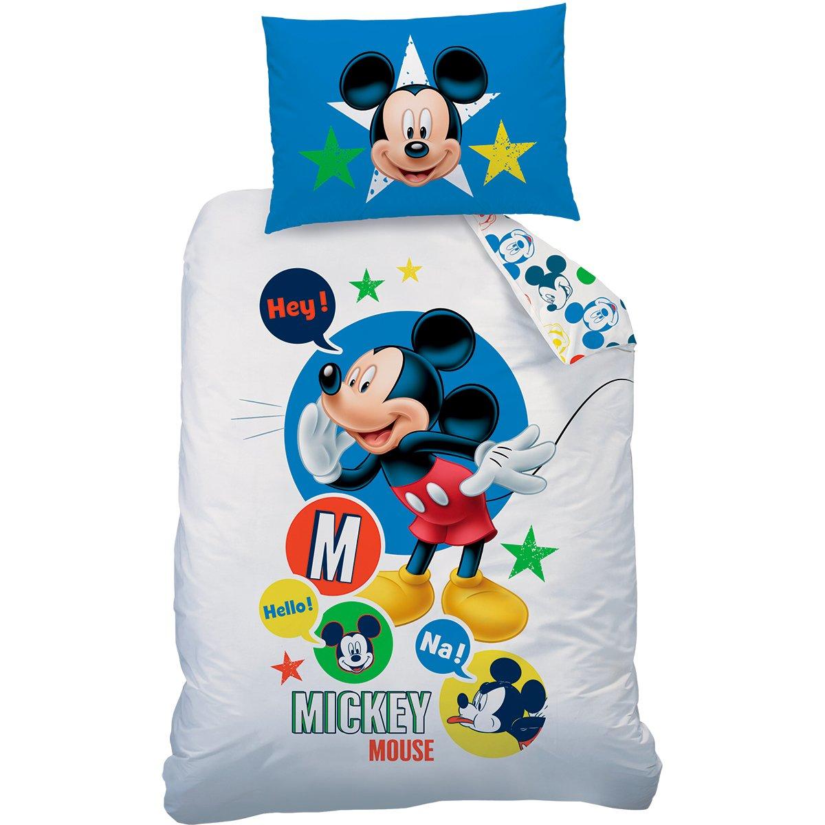 Cotone 140/x 200/cm 70/x 90/cm Cotone Rinforzato Disney Mickey 044606/Expressions 140/X 200/