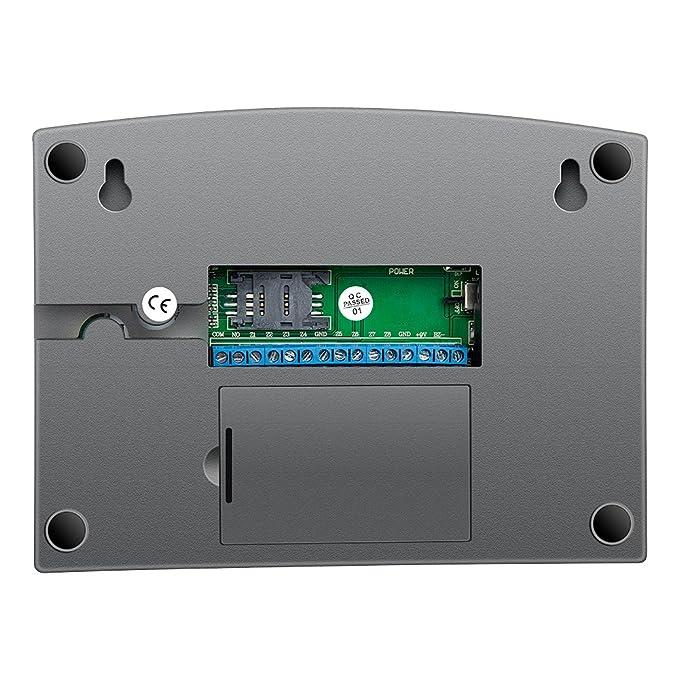 Sistema de Alarma gsm/SMS LCD Pantalla de Menú en Castellano Teclados Llamadas de 6 Teléfonos Diferentes Antirrobo Sistema de Seguridad para el Hogar, ...