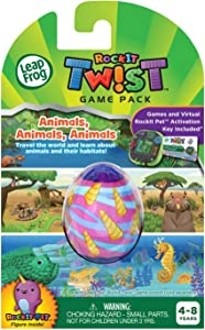 LeapFrog RockIt Twist Game Pack: Animals, Animals, Animals