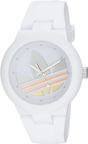 Adidas Originals ADH9084 Reloj Análogo para Mujer, color Negro/Blanco