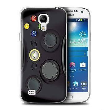 Carcasa/Funda STUFF4 dura para el Samsung Galaxy S4 Mini / serie: Consola de juegos - Xbox 360 negro