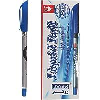 Roto Liquid Ball Pen- 0.7 Mm, 12 Pieces, Blue