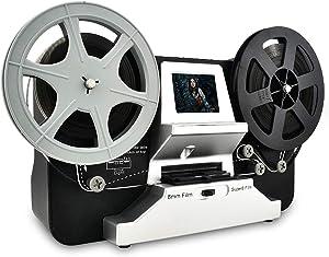Jancane Super 8/8mm Film Scanner, ConvertsConvert 3 inch and 5 inch 8mm Super 8 Film reels into Digital Video
