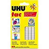 Saunders UHU Tac Removable Adhesive Putty Tabs – Non Toxic Tape Dry Adhesive for Eliminating Frequent Repairing Requirements. Adhesives & Fasteners