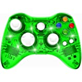 PAWHITS Wireless Xbox 360 Controller Double Motor Vibration Wireless Gamepad Gaming Joypad, Green
