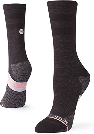 Stance Uncommon Solids Wool Womens Crew Chaussettes