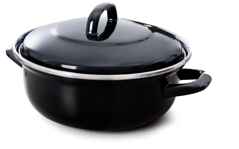 BK-Cookware B1208.524 24 cm 2.5 Litre Fortalit Dutch Oven BK Cookware