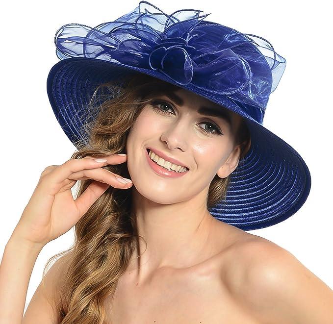 HISSHE - Pamela - para Mujer Azul Azul Marino Medium