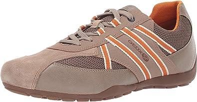 Geox RAVEX U923FB Hombre Zapatillas,mínimo,varón Zapatos Deportivos,Zapato con Cordones,Transpirable,Calzado,Zapatillas,Sneaker