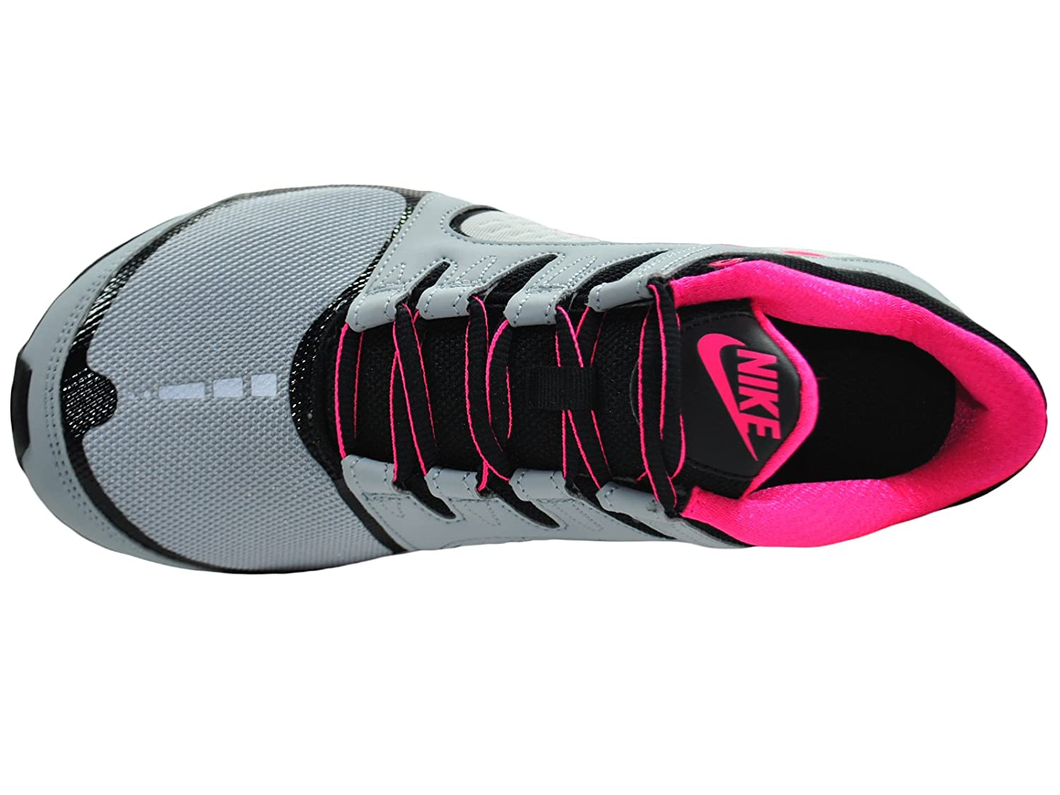 uk availability 0cfc0 89469 Amazon.com   Nike Womens Shox Vaeda Wolf Grey Vivid Pink Black Synthetic Running  Shoes 7.5 M US   Road Running