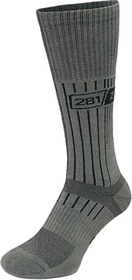 cd24441bbc020 Image Unavailable. Image not available for. Colour: Military Mid Calf Boot  Socks ...