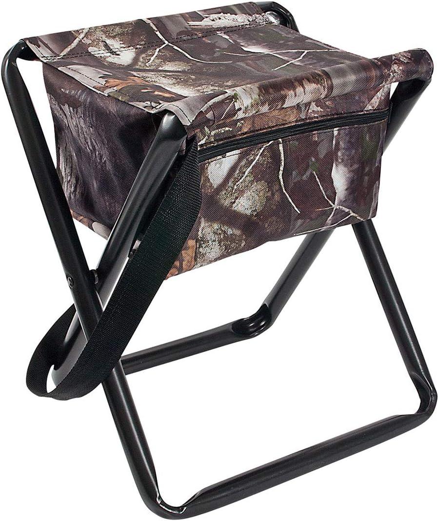 Allen Company Camo Folding Hunting Stool with Storage Pouch- Next G2 Camo - 12L x 14.5W x 17H inches