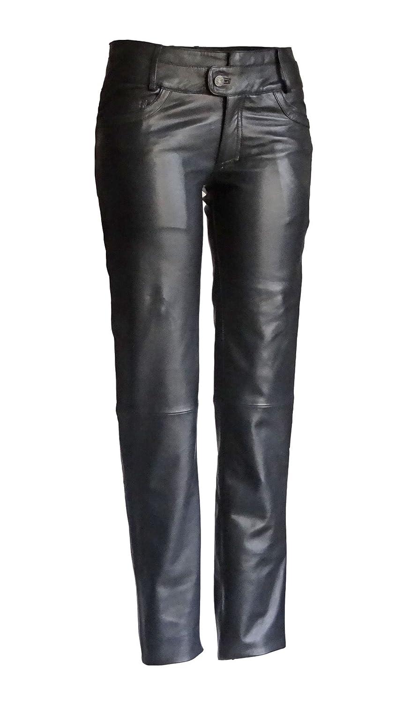 Damen Lederhose Triston schwarz