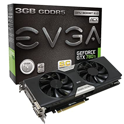 EVGA GeForce GTX 780 SC w/ ACX Cooler Download Driver
