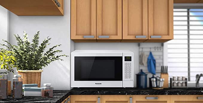 Panasonic Microwave NN-CT54JWBPQ in White, Combination Microwave Oven 27 Litre