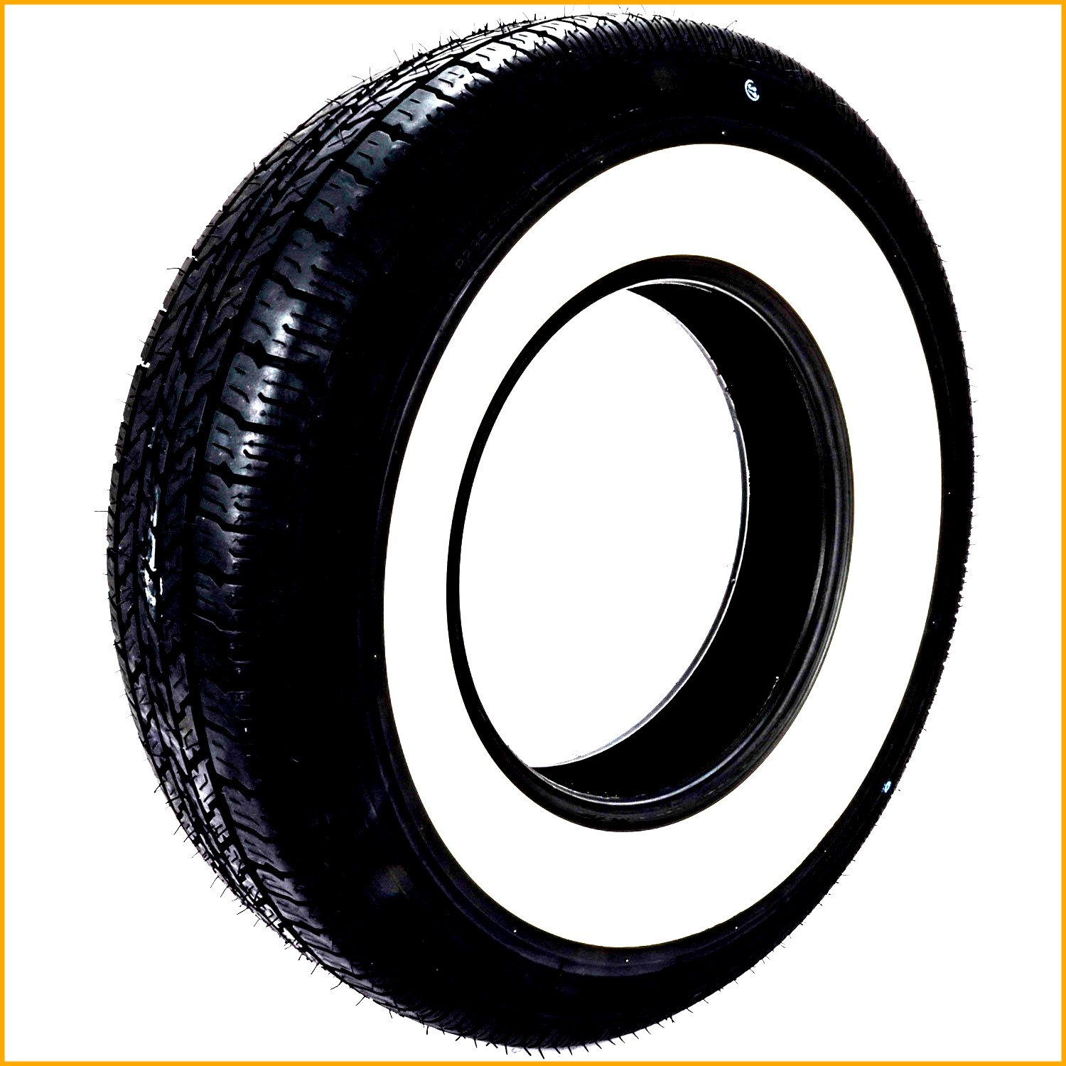 Radial Tire Automotive Classic Age Classic Nostalgia Whitewall Original Car Vehicle High Performance Driving Parts - House Deals