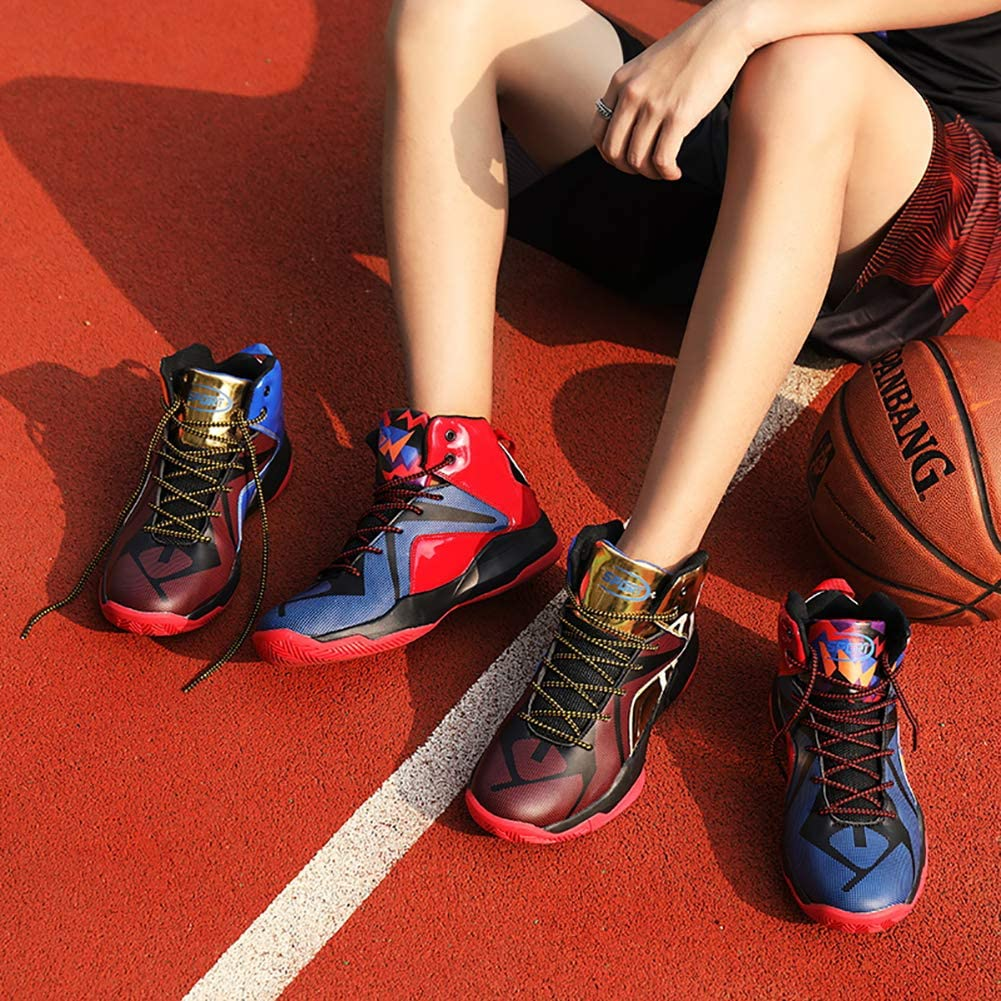 Scarpe da Basket Uomo Hi-Top Tennis Ginnastica Sneaker