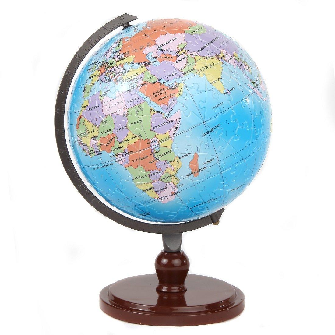 格安SALEスタート! Lily 's Home for Your World 3dキッズ教育インタラクティブGlobeパズル| Earth Globe for Globe World Kids | 480ピースPuzzleball – 9インチGlobe B077D25VCS, アヤウタチョウ:a0150bd6 --- clubavenue.eu