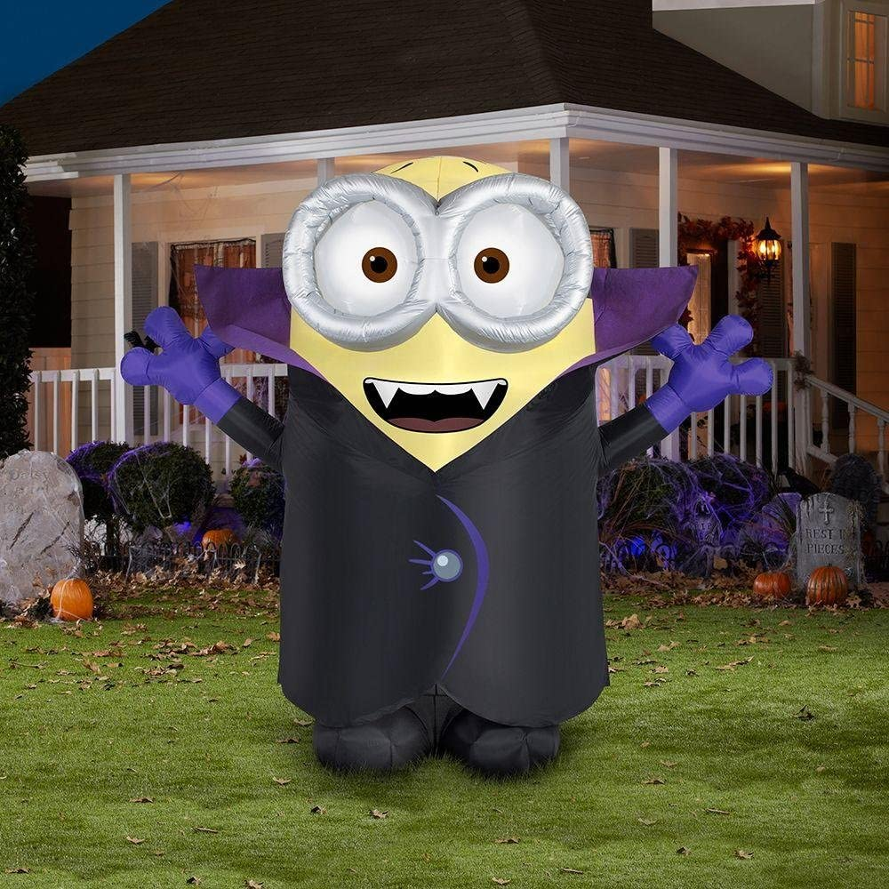 Despicable Me Minion Halloween Inflatable Gone Batty Vampire 8 Tall Toys Games