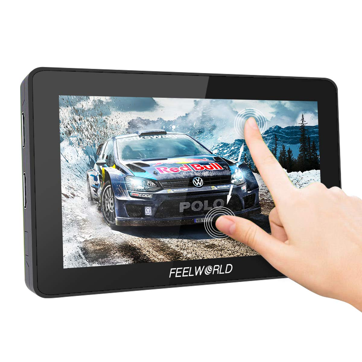 Feelworld F6 Plus, 5.5 inch Touch Screen On-Camera Field Monitor, 3D LUT 1920x1080 with 4K HDMI Input/Loop Output/DC Output by FEELWORLD