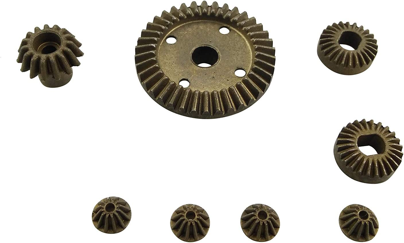 Fytoo 12T 15T 24T 38T Metal Front and Rear Differential//Plastic Gear Accessories for 1:18 Wltoys A949 A959 A969 A979 184012 RC Remote Control Car Spare Parts