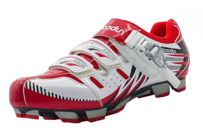 Liveinu Men's Bike Shoe Riding Shoes B075CVZJWS 9 M US|Mountain Red