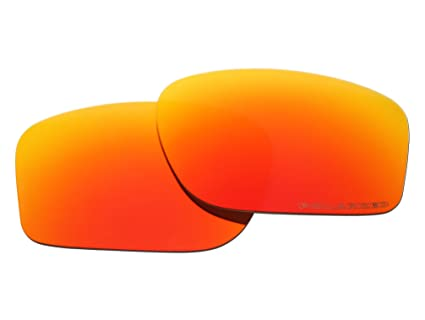 597208063f92 Image Unavailable. Image not available for. Color  Polarized Replacement  Sunglasses Lenses for Oakley Chainlink with UV Protection(Fire Red ...