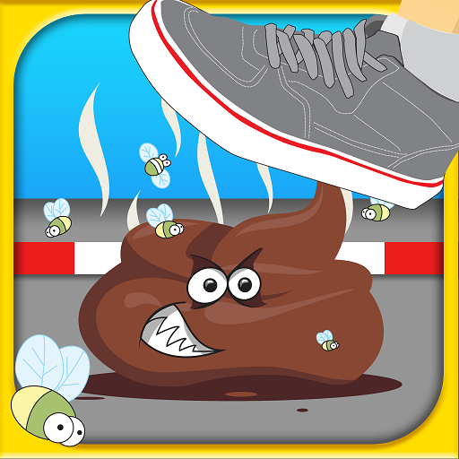 Dont tap on the white tile 2, avoid the black blocks and step not on the funny poo best puzzlegames for Toilet Time game