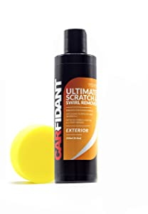Carfidant Scratch and Swirl Remover - Ultimate Car Scratch Remover - Polish & Paint Restorer - Easily Repair Paint Scratches, Scratches, Water Spots! Car Buffer Kit
