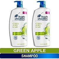 2-Pack Head and Shoulders Anti Dandruff Treatment and Scalp Care Shampoo 32.1 Fl Oz (Green Apple)