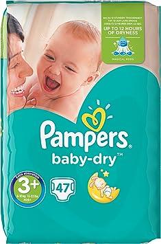 6 15-30 kg Pampers Baby Dry 45 Windeln Gr
