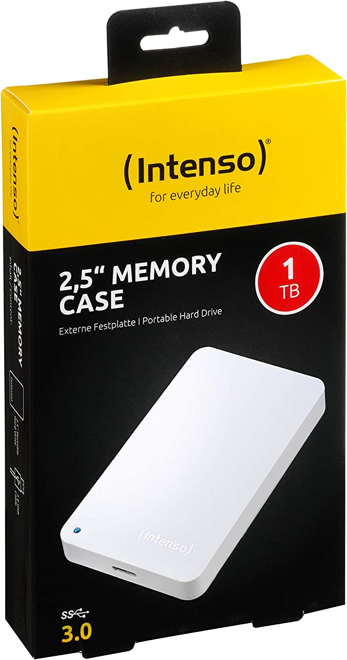 Intenso Memory Case Portable Hard Drive 500 Gb Portable Computers Accessories