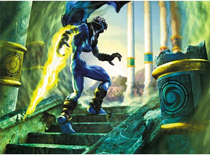 Amazon Com Soul Reaver 2 Poster By Silk Printing Size About