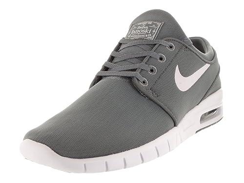 Nike Herren Stefan Janoski Max Sneaker, schwarzweiß, 47.5 EU
