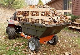 Amazon Com Husqvarna Poly Swivel Dump Cart 12 5 Cubic