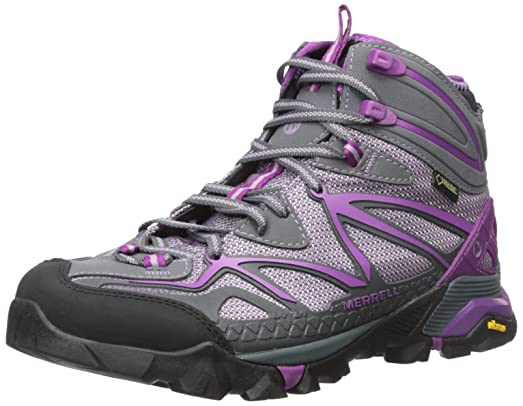 Merrell Womens Capra Sport Mid GoreTex Hiking Boot       Purple