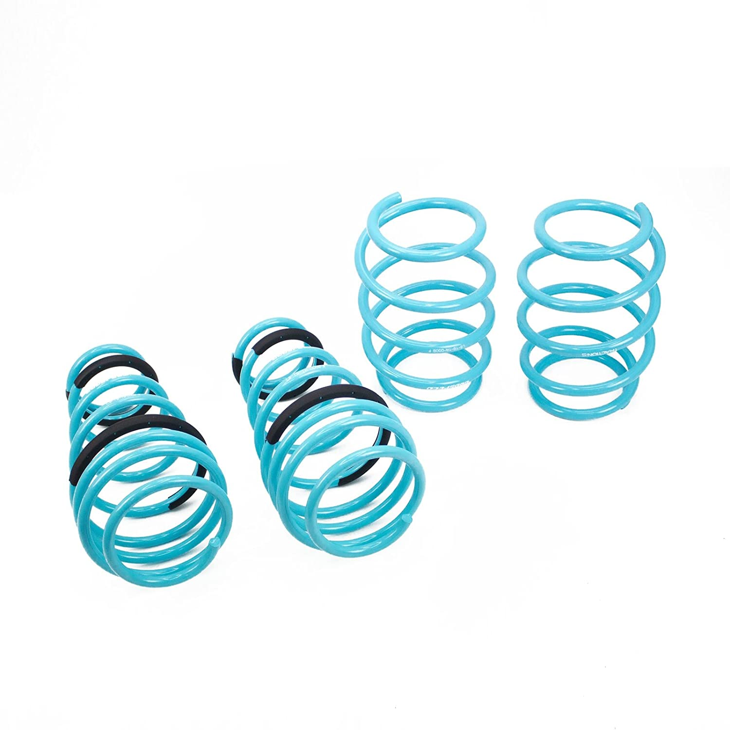 Godspeed LS-TS-TA-0009 Traction-S Performance Lowering Springs Improved Handling Reduce Body Roll Set of 4