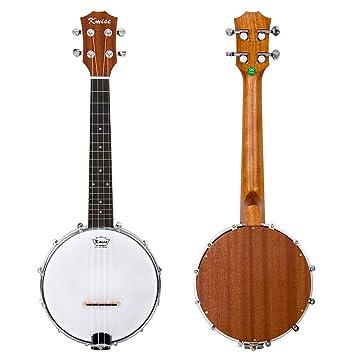 Kmise 4 String Banjo Ukulele Ukelele Uke Konzert 23 Zoll Größe Sapele Holz