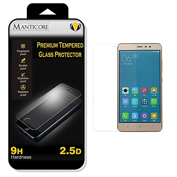 Manticore   Samsung Galaxy S7   9H Hardness Toughened Tempered Glass Screen Guard Protector Screen guards