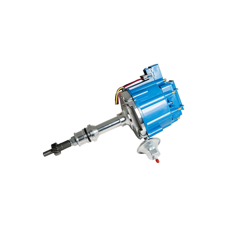 Top Street Performance JM6502BL HEI Distributor with Blue Cap (50K Volt Coil)