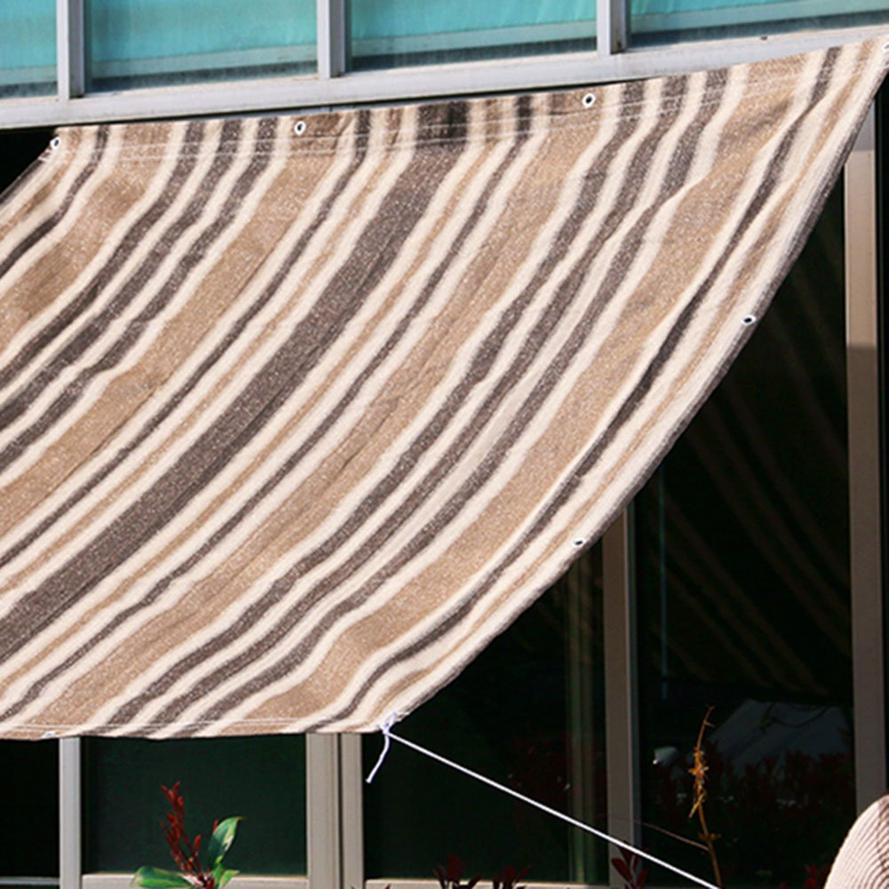 LQQGXL Sonnenschutznetz, 6-Pin-Verschlüsselung Isolierung Netz Balkon Sonnencreme Netz Wasserdichte grüne Pflanze fleischigen Schatten Netz Verdunkelungsvorhänge Wasserdichte Netz Plane d9f770