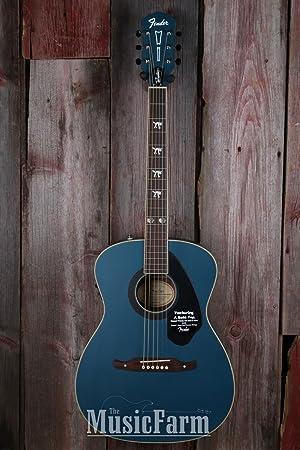 Fender Tim Armstrong Hellcat Sapphire FSR acústica guitarra ...