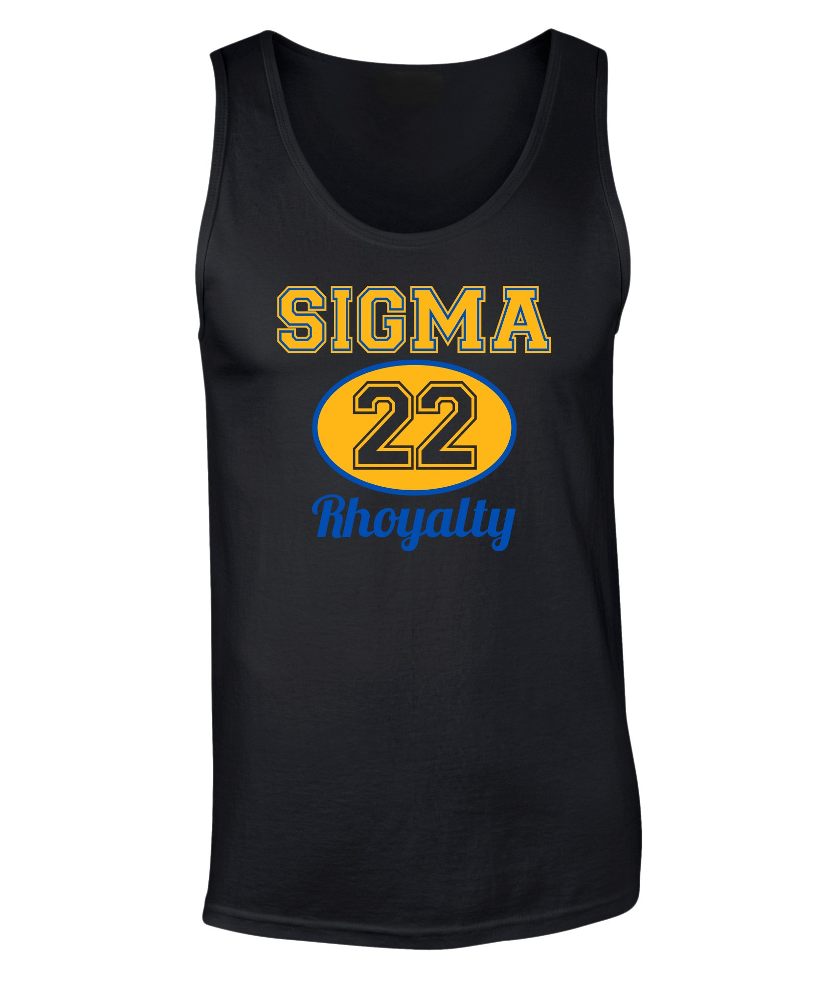 Sigma Gamma Rho Sigma Athletics Graphic Print Tank Top 8610 Shirts