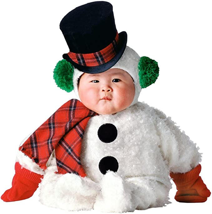 Tom Arma Snow Baby Snowman Signature Toddler Halloween Costume 12-18 Months