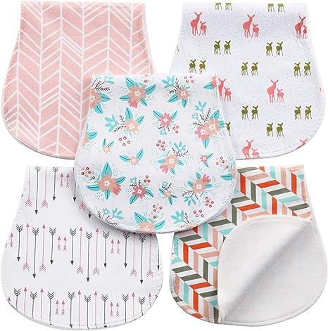 Paños Para Bebés Paños Para Niños Eructo 5 Unidades Baberos de ...