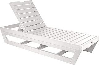 product image for highwood AD-LNGPS61-WHE Laguna Chaise Lounge, White